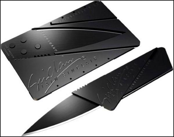 Нож-трансформер в виде кредитки от CardSharp