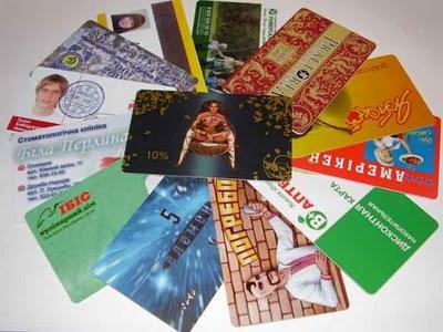 Разнообразие и виды пластиковых карт