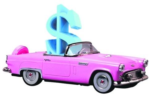 Оплата покупки новой машины банковской картой