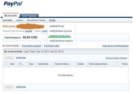 Как привязать карту к Paypal? Привязка банковской карты к PayPal.