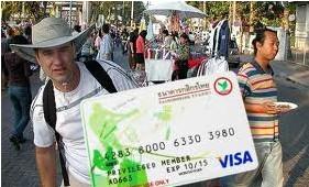В Таиланде для путешественников содали банковские карты со страховкой