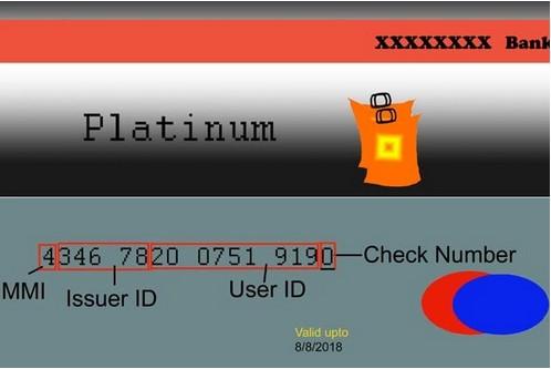 Что означает номер кредитной карты