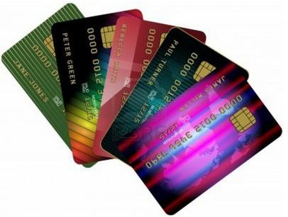 Коллекция банковских карт