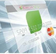 Прозрачная банковская карта Ренессанс Кредит