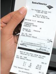 Не выбрасывайте чеки от кредитных карт