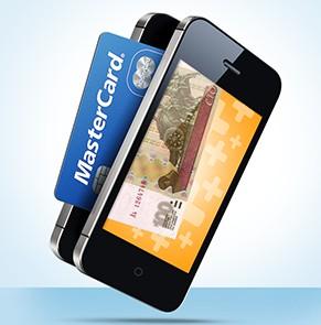 Телефона с помощью банковской карты