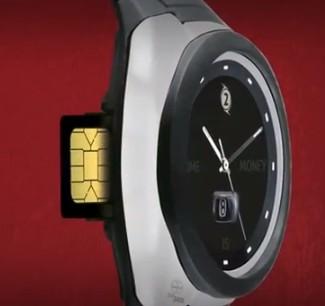 Бесконтактные часы для оплаты покупок от банка Ак Барс