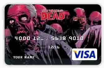 Банковские карты для любителей зомби