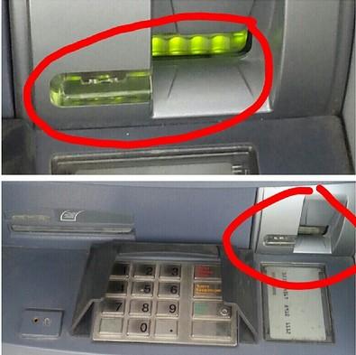 Как работают скиминговые устройства на банкоматах