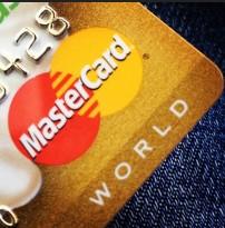 Объемы платежей с использованием карт MasterCard и Visa