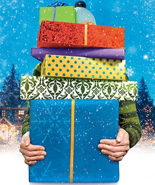 Visa оплатит новогодние подарки