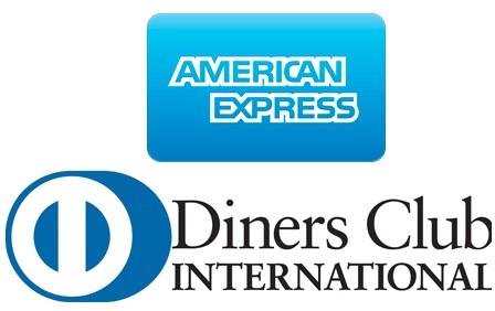 Терминалы УБРиР могут принимать карты AmericanExpress и DinersClub
