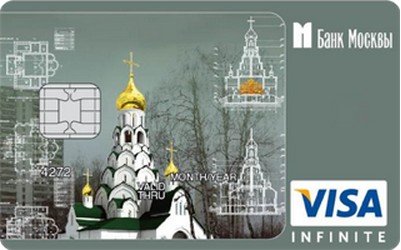 Карта «Дар святыне» от Банка Москвы и Русской Православной Церкви