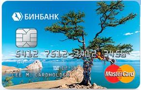Пенсионная банковская карта от Бинбанка