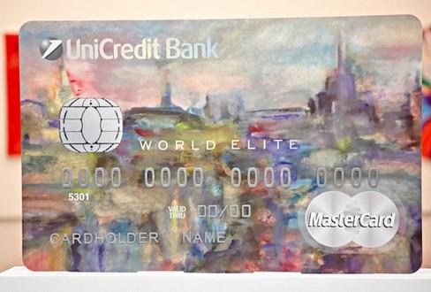 ЮниКредит банк: арт-дизайн World Elite Mastercard