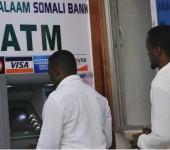 В Сомали заработал единственный банкомат