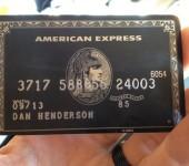 American Express Black Card (Карта «Центурион»)