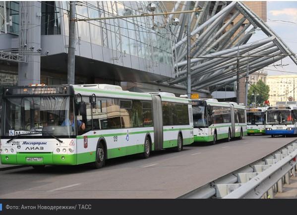 В автобусах Москвы можно расплатиться кредиткой