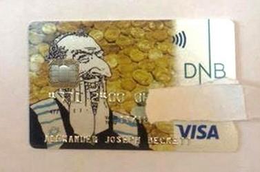 "Кредитка с ""алчным евреем"" от банка Норвегии"