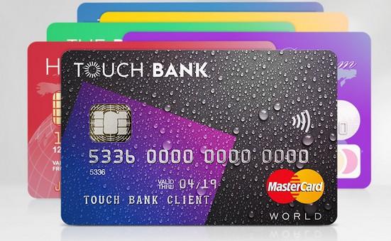 Touch Bank: 6 карт в одной