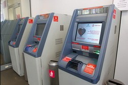 Бесконтактные банкоматы от Альфа-Банка
