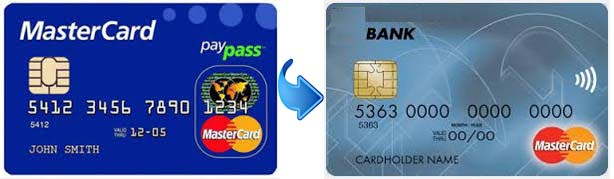 MasterCard PayPass превратился в значок