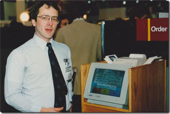 первый кассовый терминал с поддержкой карт