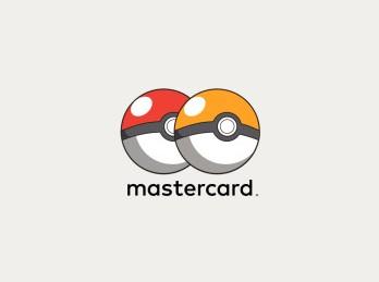новый логотип Мастеркард в виде Покемон Го