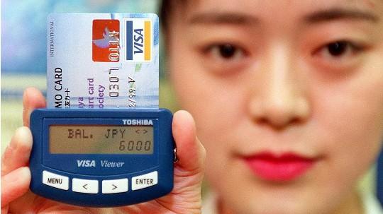 карта Visa в Японии