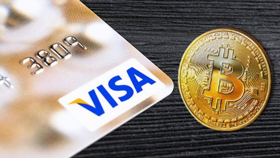VISA представляет первую в истории кредитную карту, предлагающую вознаграждение в биткоинах